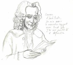 le sourire de Voltaire