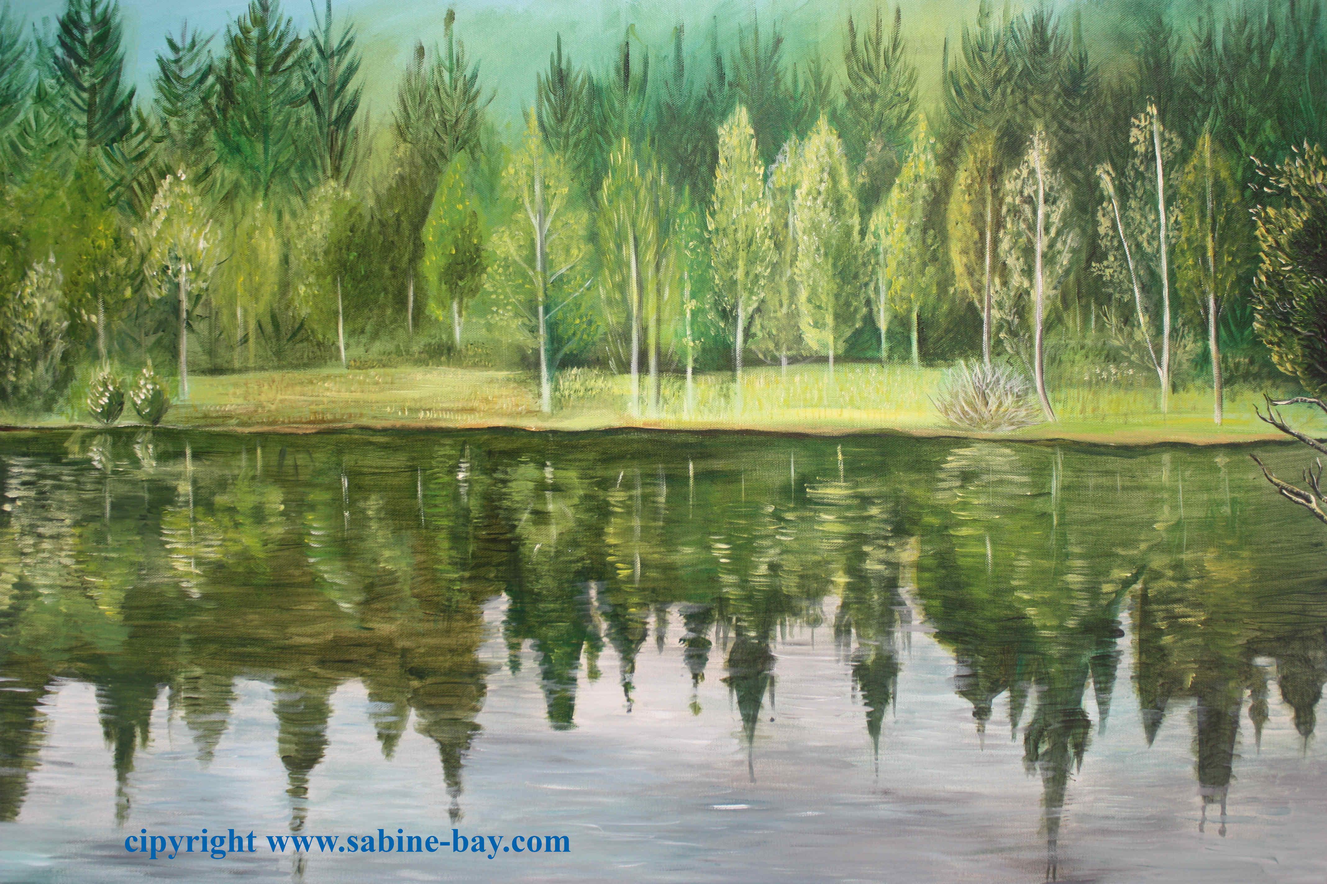 L'ancien lac