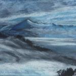 Le vent sur la montagne