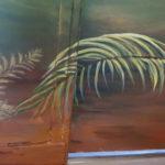 Détail fresque - Bas de porte