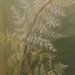 Fougère - détail de la fresque